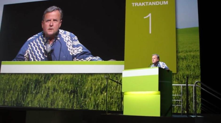 Speaking at the annual Syngenta Shareholder meeting in Basel Switzerland on April 27, 2015