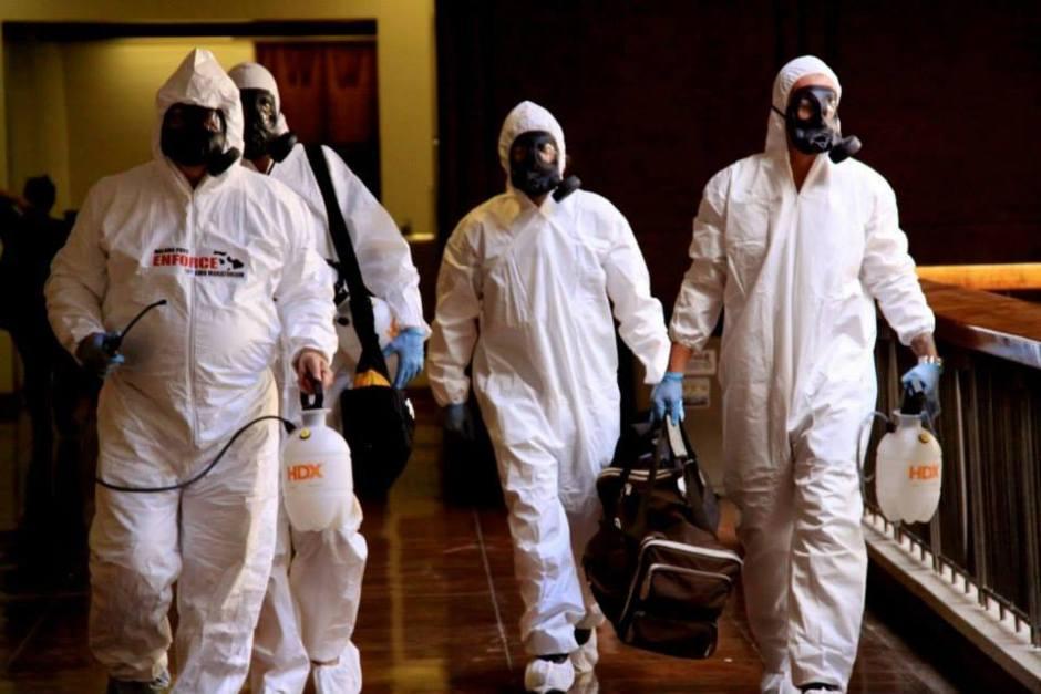 Hazmat spray suits