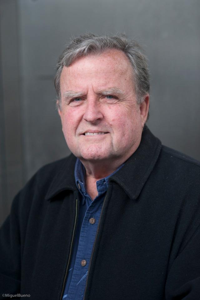 Gary in black jacket in Geneva